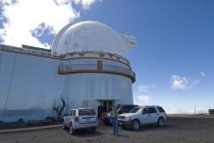 Mauna Kea Télescope Université Hawaii UH-88